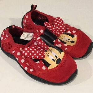 Disney Mini Mouse water shoes toddler 7/8